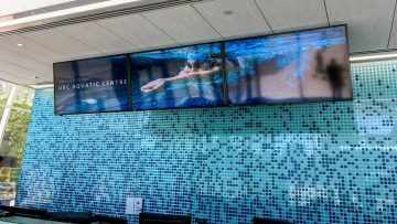 Signage Showcase: Aquatic Centre